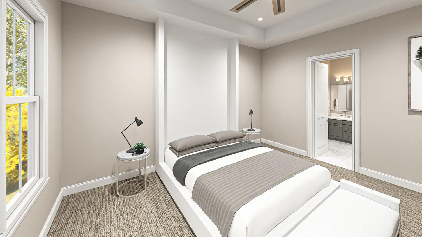 Bedroom featured in the Fifer By Toll Brothers in Boston, MA