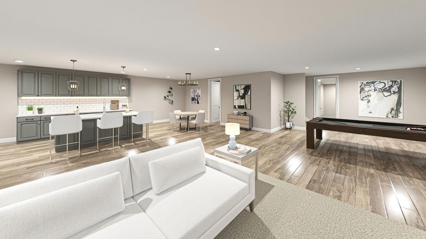 Living Area featured in the Fifer By Toll Brothers in Boston, MA