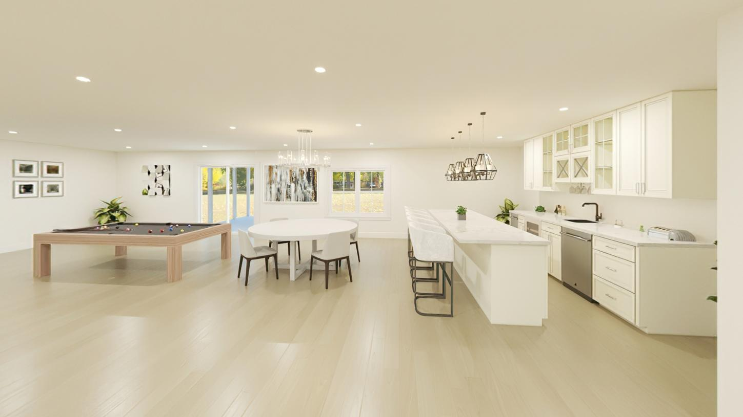 Kitchen featured in the Wetherbee By Toll Brothers in Boston, MA