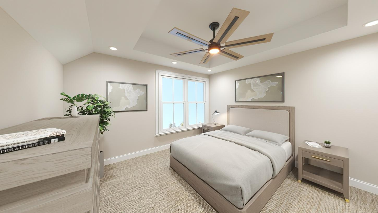 Bedroom featured in the Hager By Toll Brothers in Boston, MA