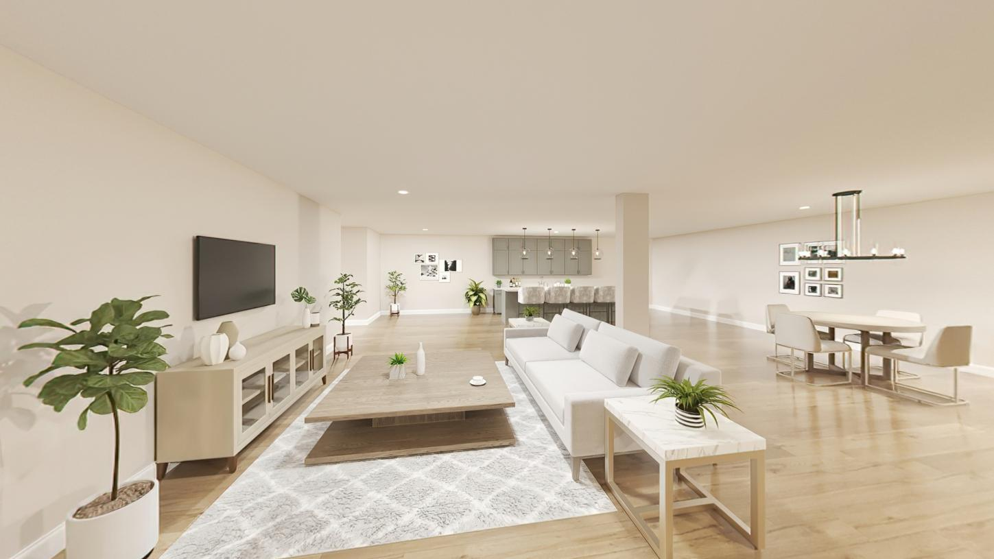 Living Area featured in the Hager By Toll Brothers in Boston, MA