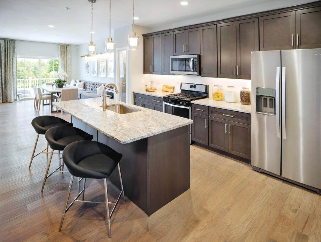 Kitchen featured in the Auden By Toll Brothers in Philadelphia, PA