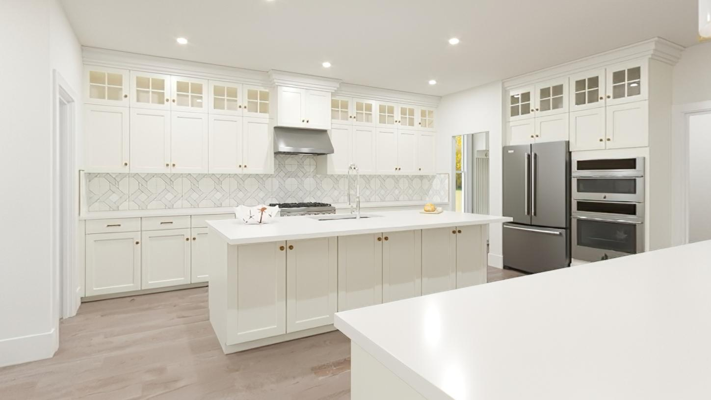 Kitchen featured in the Copley By Toll Brothers in Boston, MA