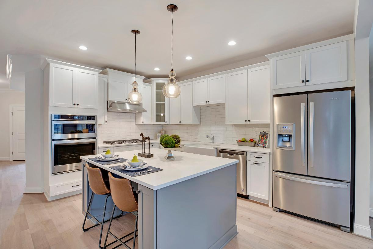 Kitchen featured in the Henderson By Toll Brothers in Philadelphia, PA