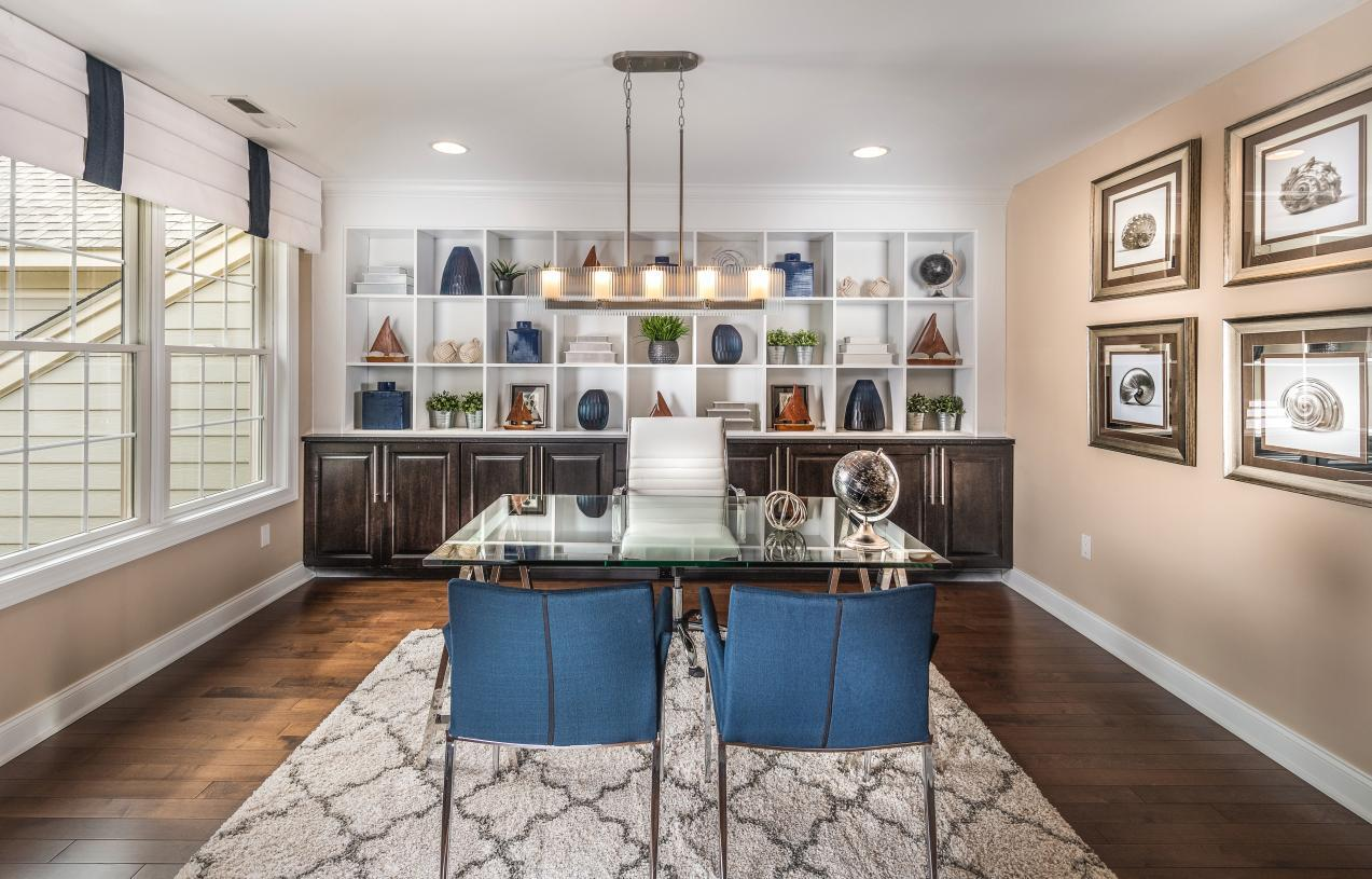 Living Area featured in the Henderson By Toll Brothers in Philadelphia, PA
