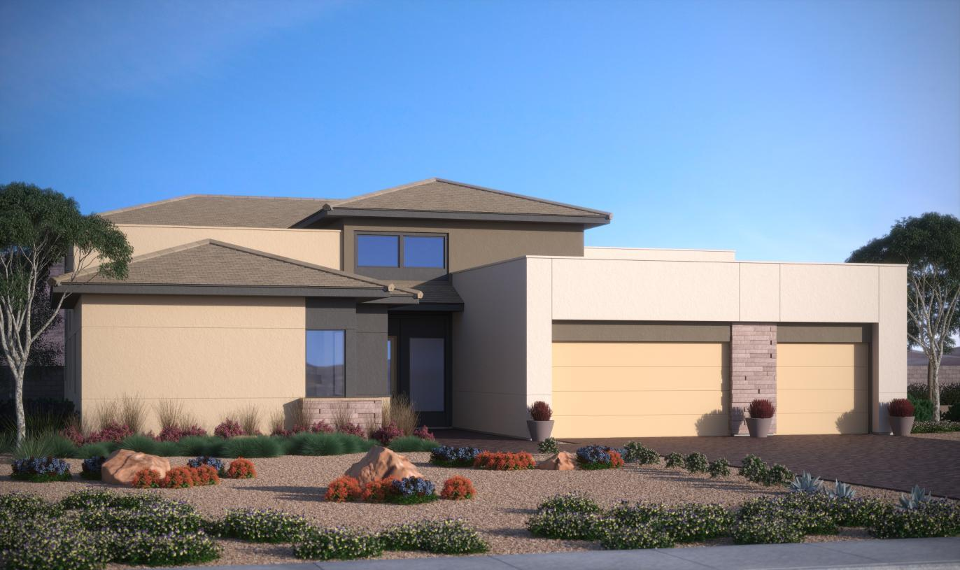 Exterior featured in the North By Toll Brothers in Las Vegas, NV