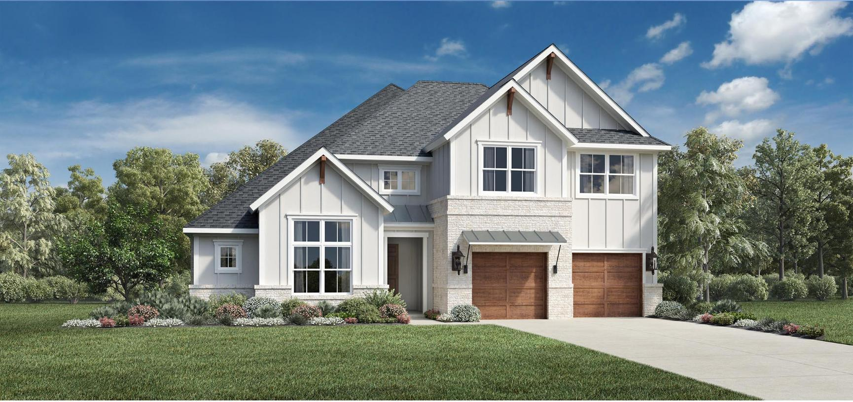 Exterior featured in the Pampa By Toll Brothers in Dallas, TX