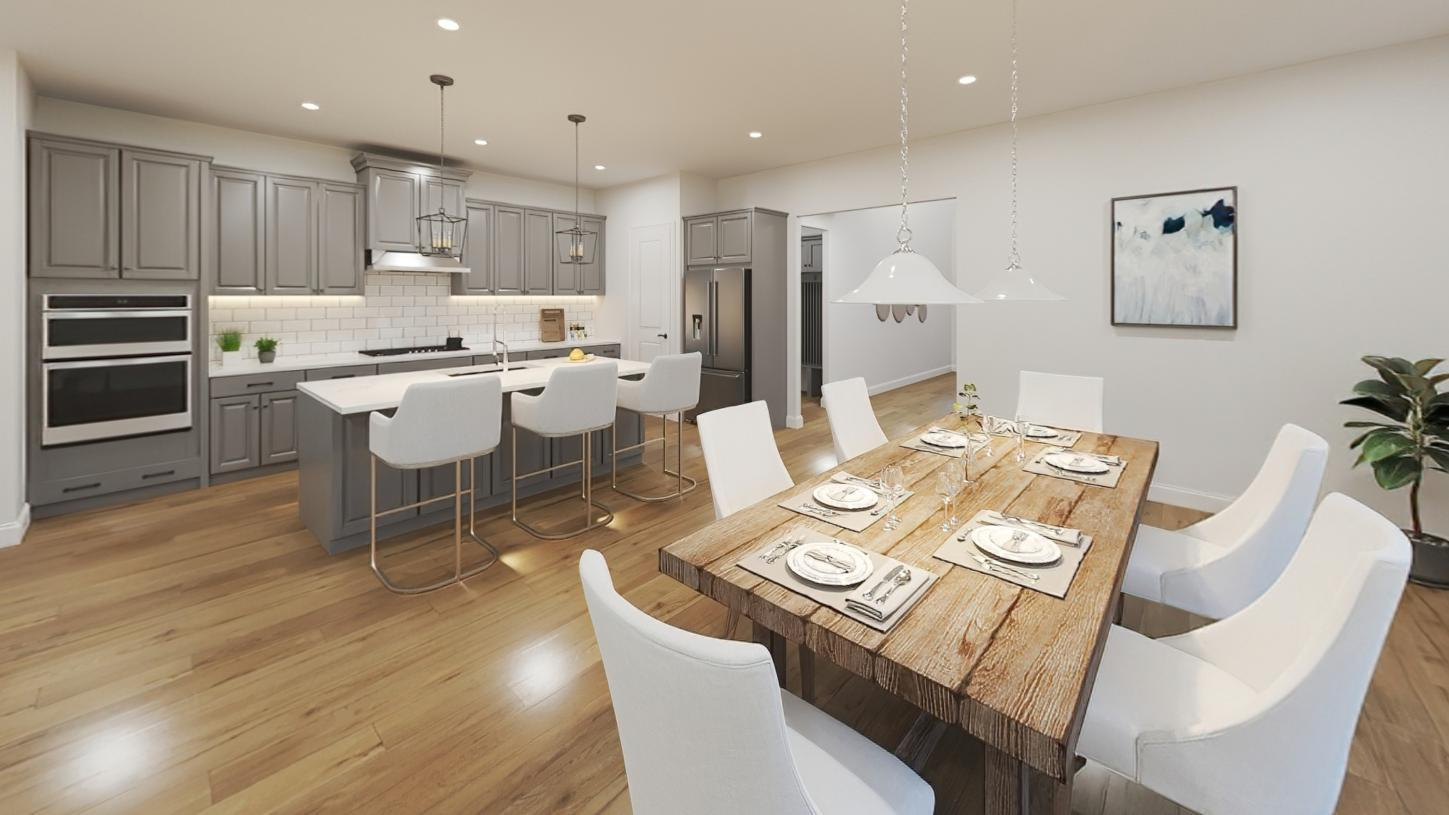 Kitchen featured in the Steele By Toll Brothers in Boston, MA