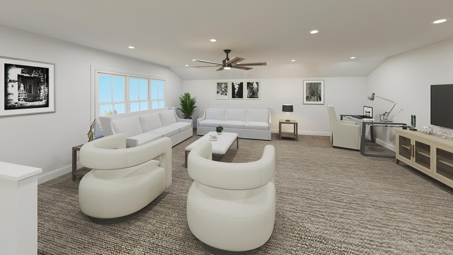 Living Area featured in the Steele By Toll Brothers in Boston, MA