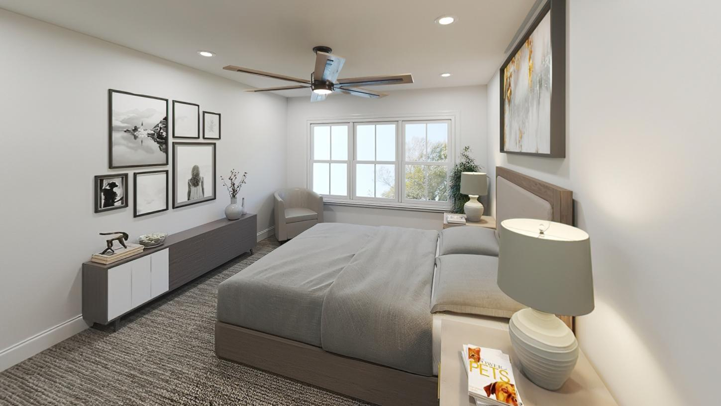 Bedroom featured in the Steele By Toll Brothers in Boston, MA