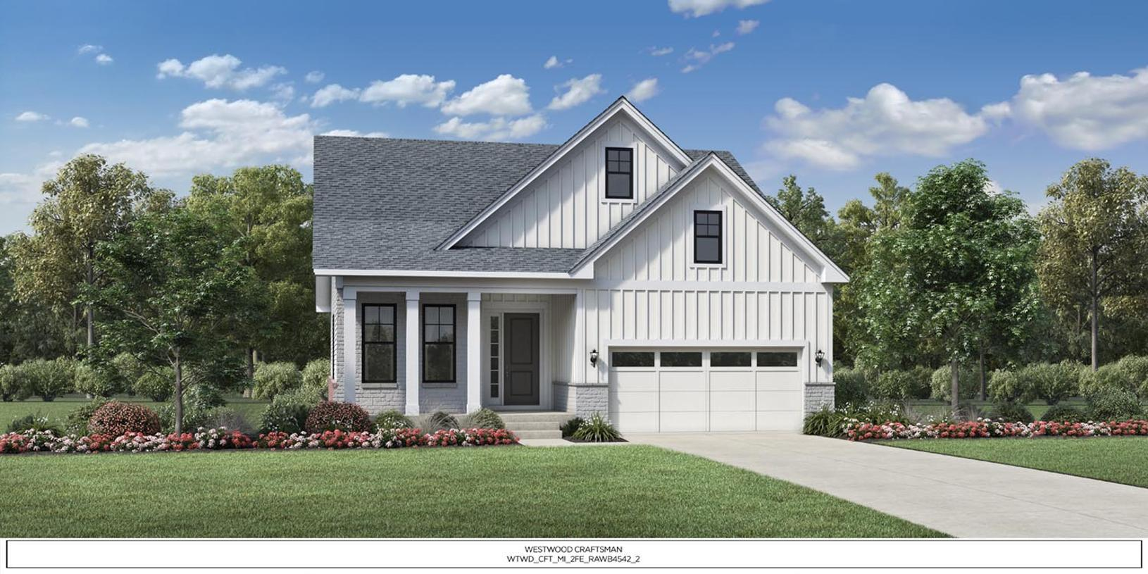 Exterior featured in the Westwood By Toll Brothers in Detroit, MI