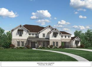 Venticello - Town Lake at Flower Mound: Flower Mound, Texas - Toll Brothers