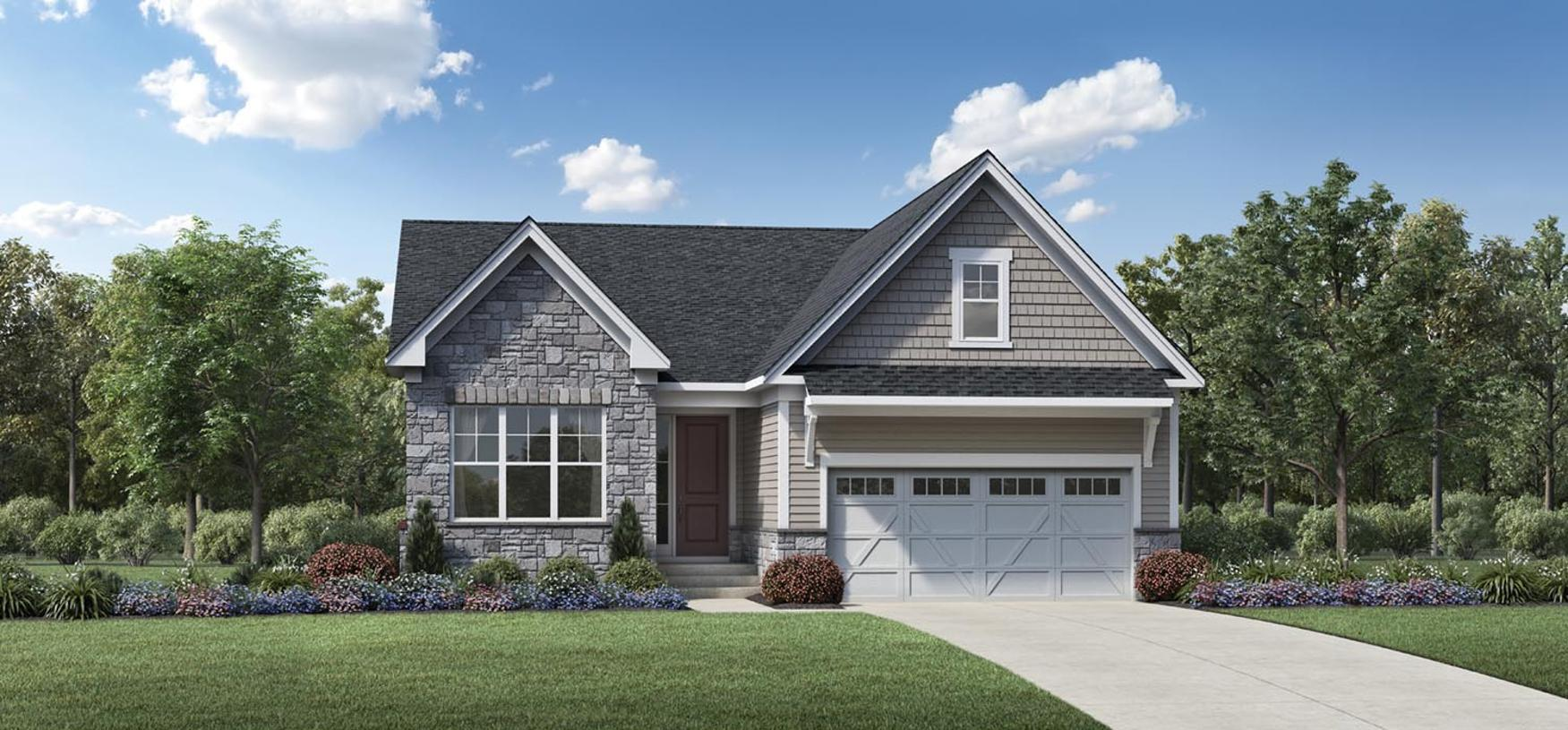 Exterior featured in the Farrell By Toll Brothers in Detroit, MI