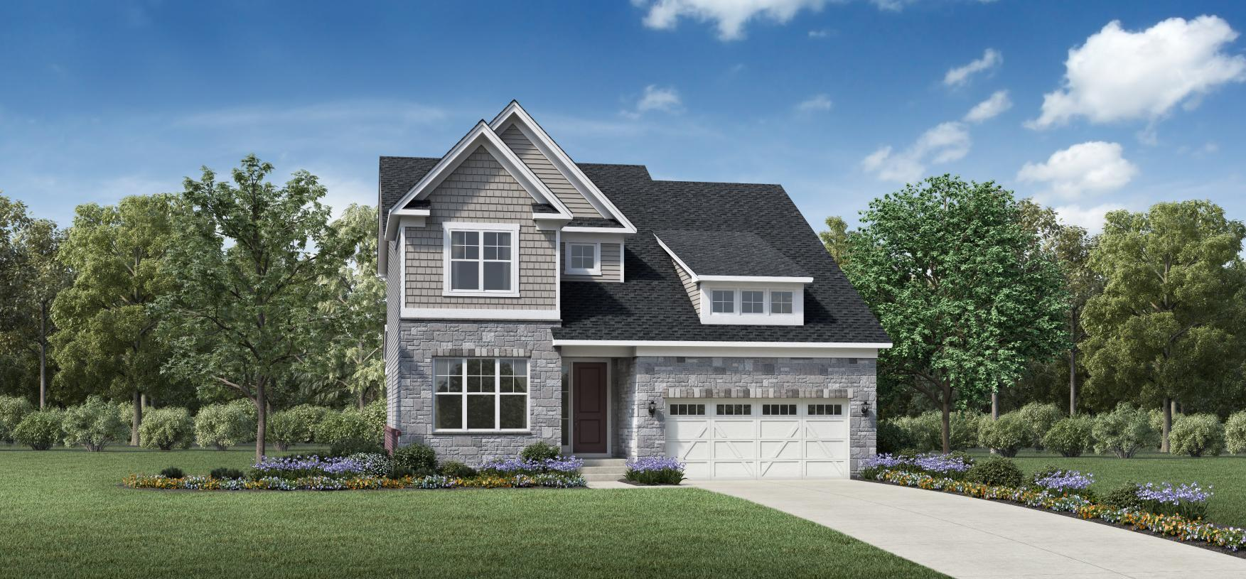 Exterior featured in the Waltham By Toll Brothers in Detroit, MI