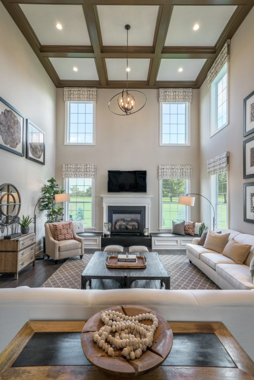 Living Area featured in the Harding By Toll Brothers in Detroit, MI