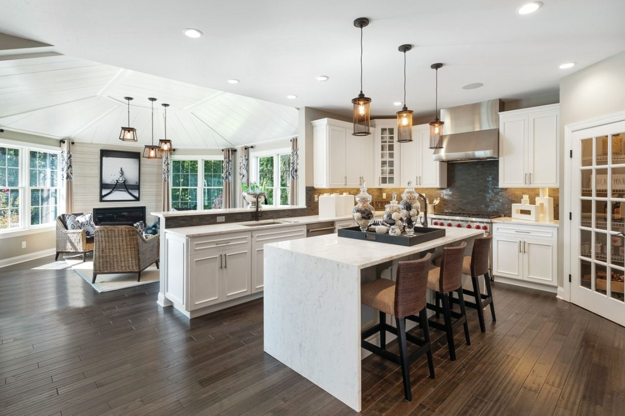 Kitchen featured in the Harding By Toll Brothers in Detroit, MI