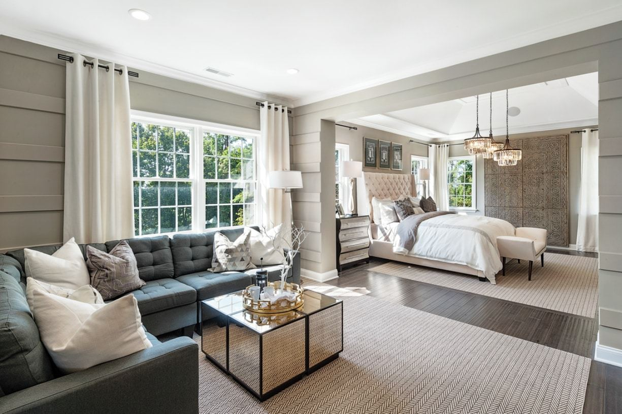 Bedroom featured in the Harding By Toll Brothers in Detroit, MI