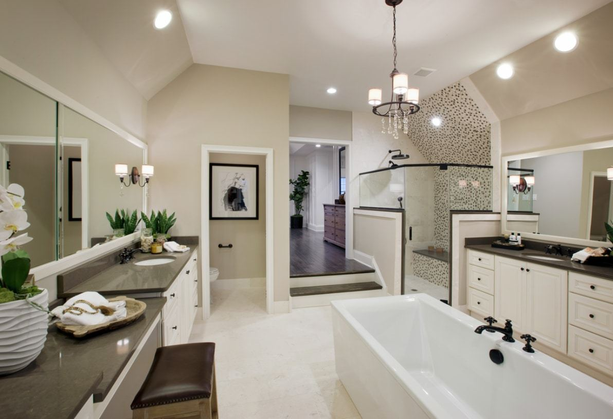 Bathroom featured in the Harding By Toll Brothers in Detroit, MI
