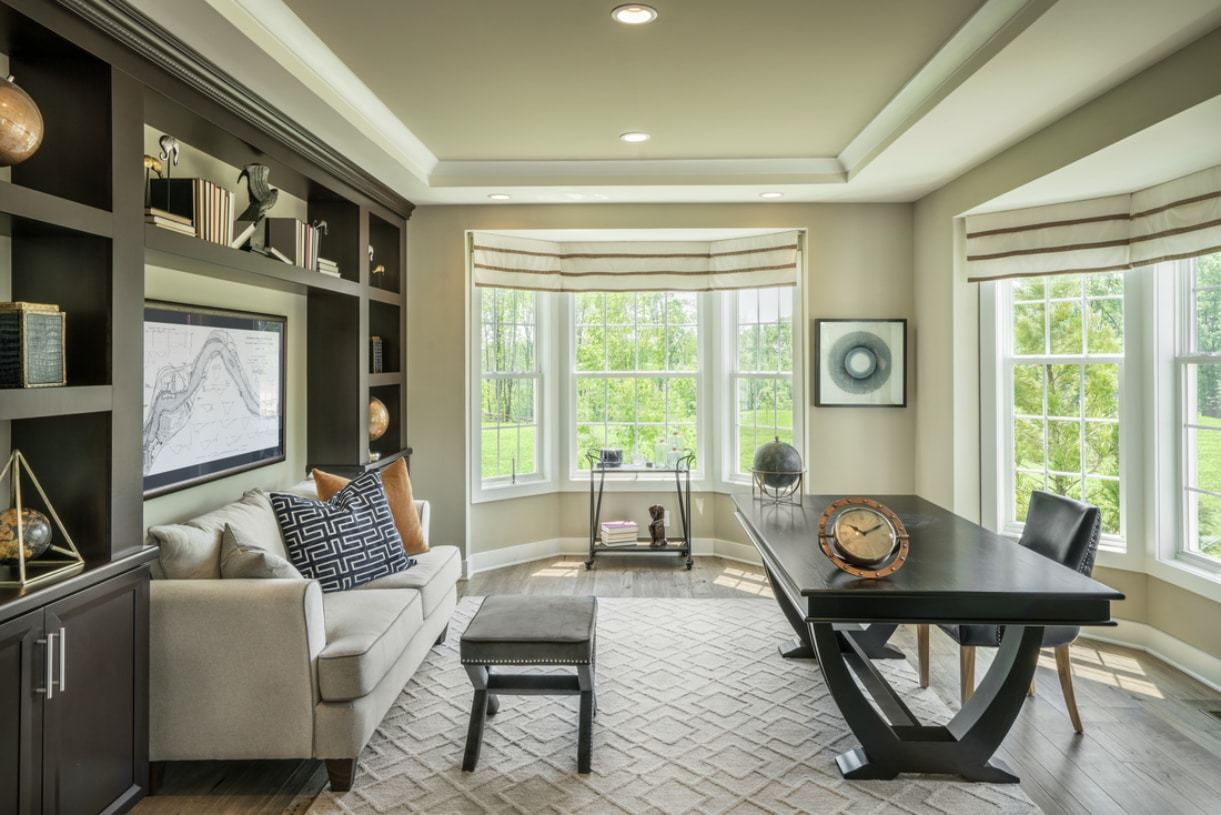 Living Area featured in the Dandridge By Toll Brothers in Detroit, MI