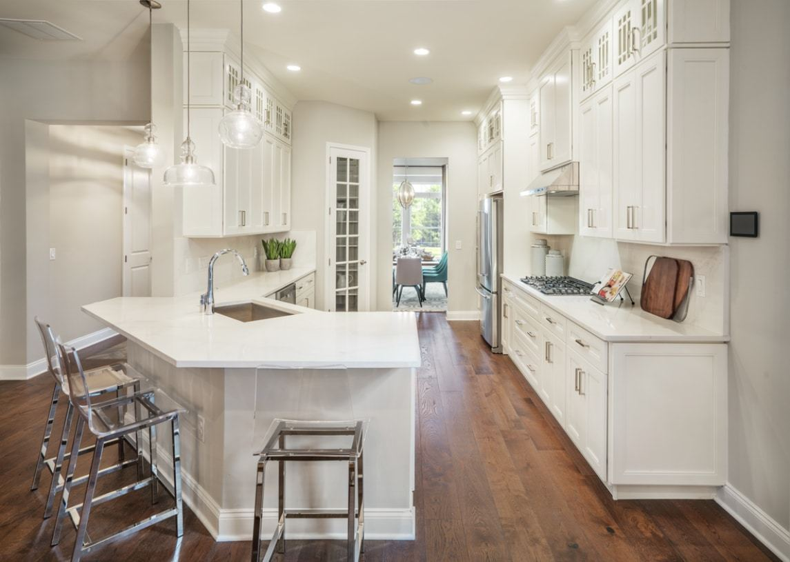 Kitchen featured in the Farrell By Toll Brothers in Detroit, MI