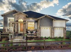 Trelease - Toll Brothers at Inspiration - Broomfield Collection: Aurora, Colorado - Toll Brothers