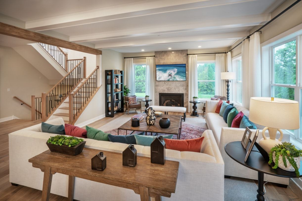 Living Area featured in the Arlen By Toll Brothers in Philadelphia, PA