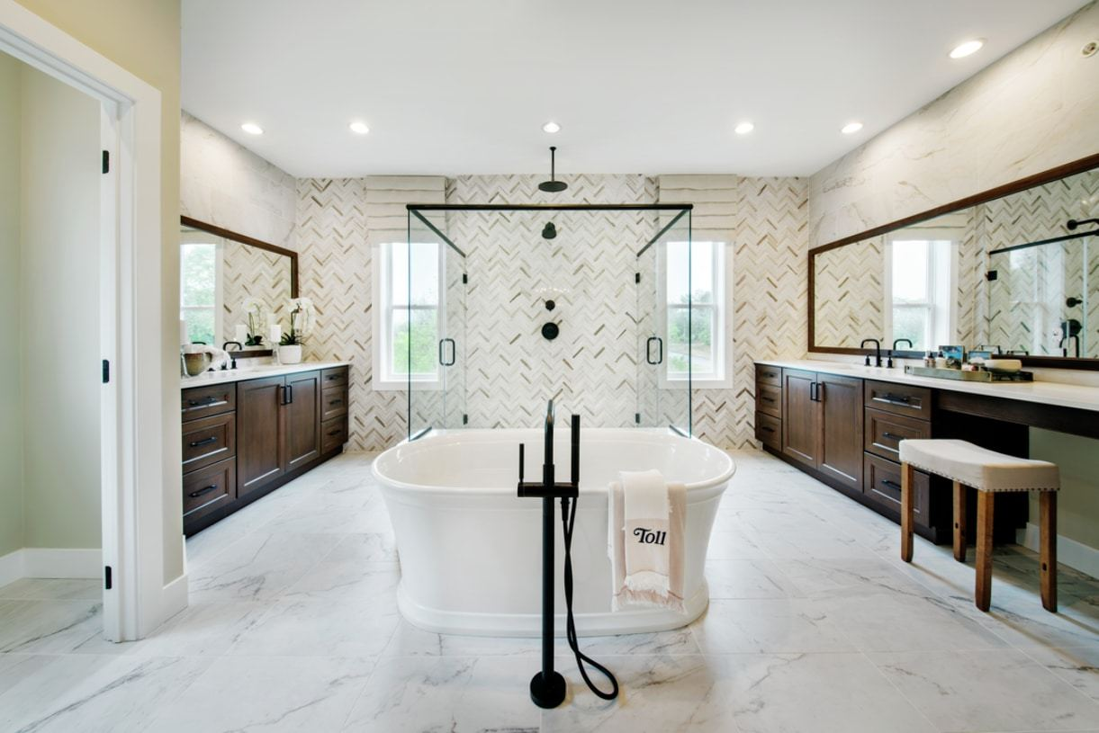 Bathroom featured in the Arlen By Toll Brothers in Philadelphia, PA