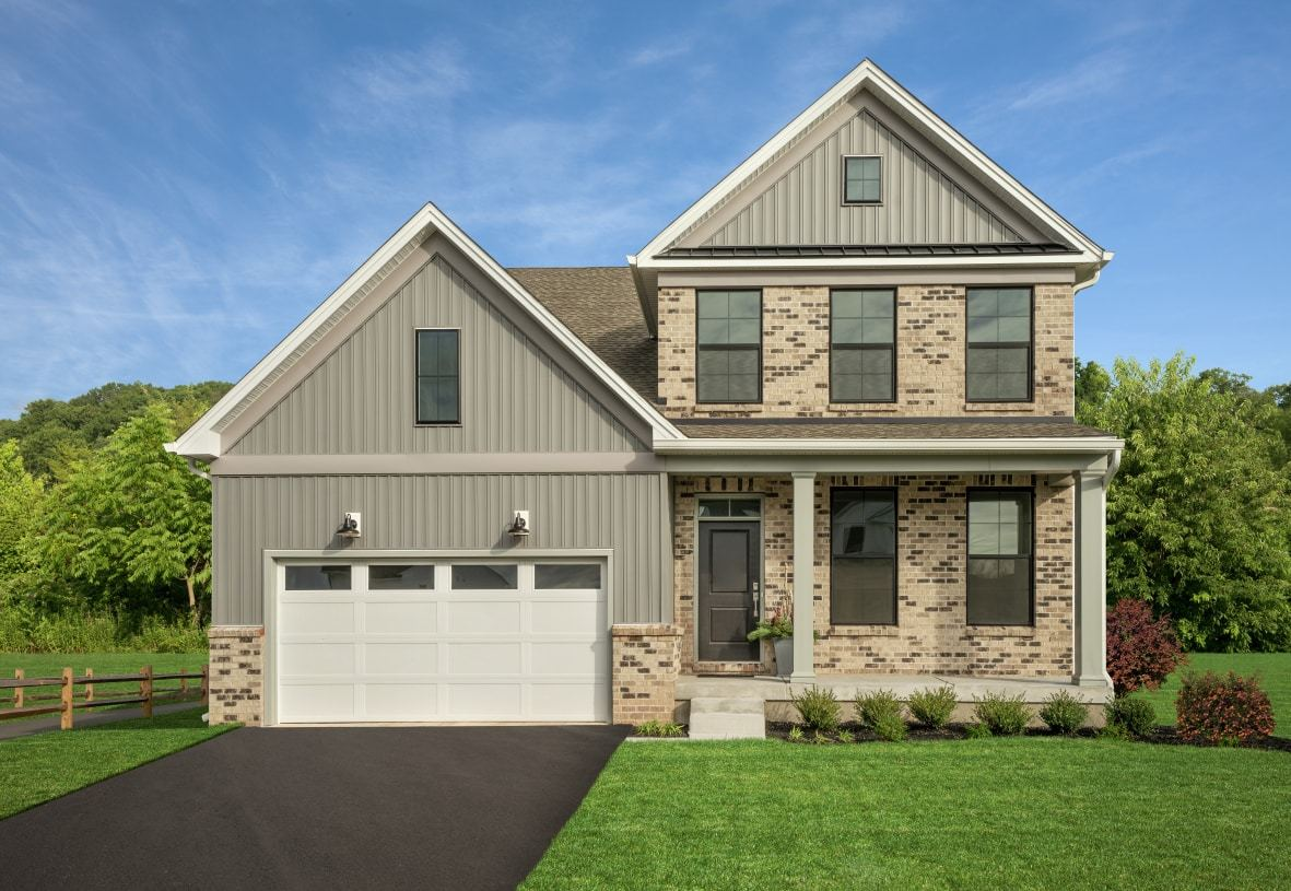 Exterior featured in the Merion By Toll Brothers in Philadelphia, PA