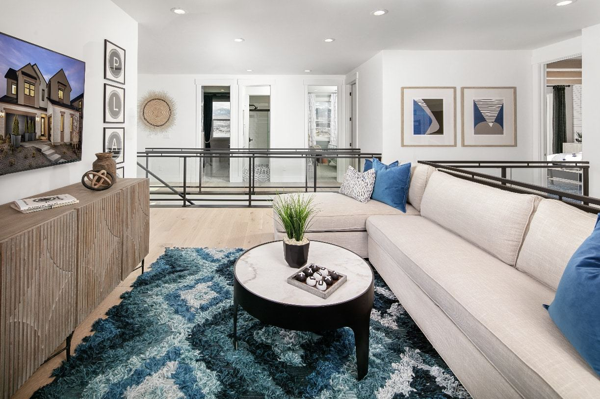 Living Area featured in the Winsley By Toll Brothers in Reno, NV