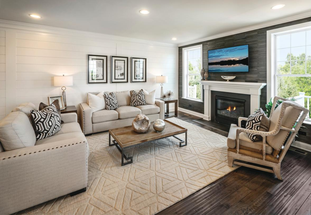 Living Area featured in the Denton Manor By Toll Brothers in Waterbury, CT
