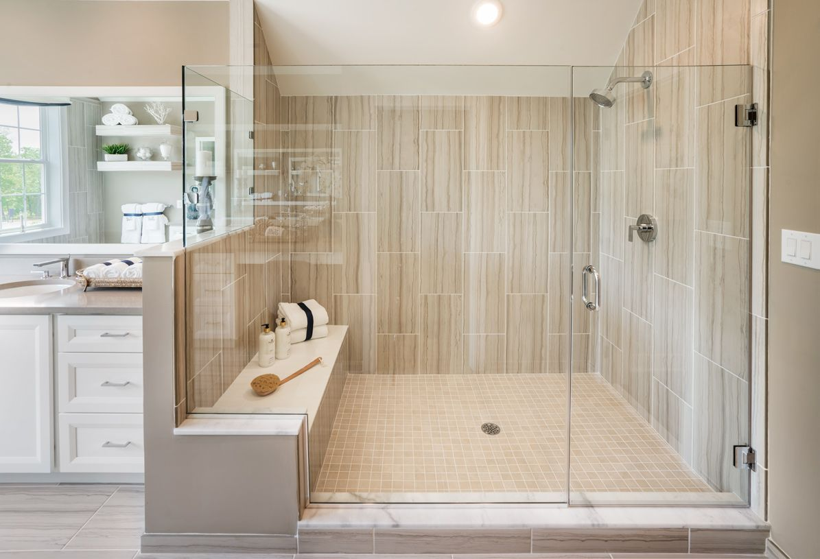 Bathroom featured in the Dandridge By Toll Brothers in Detroit, MI
