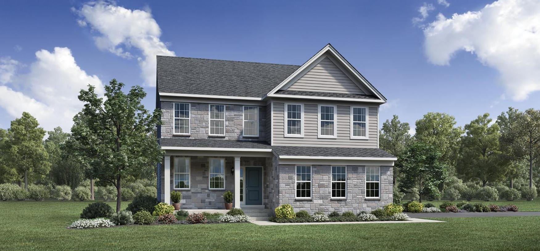 Exterior featured in the Winona By Toll Brothers in Detroit, MI