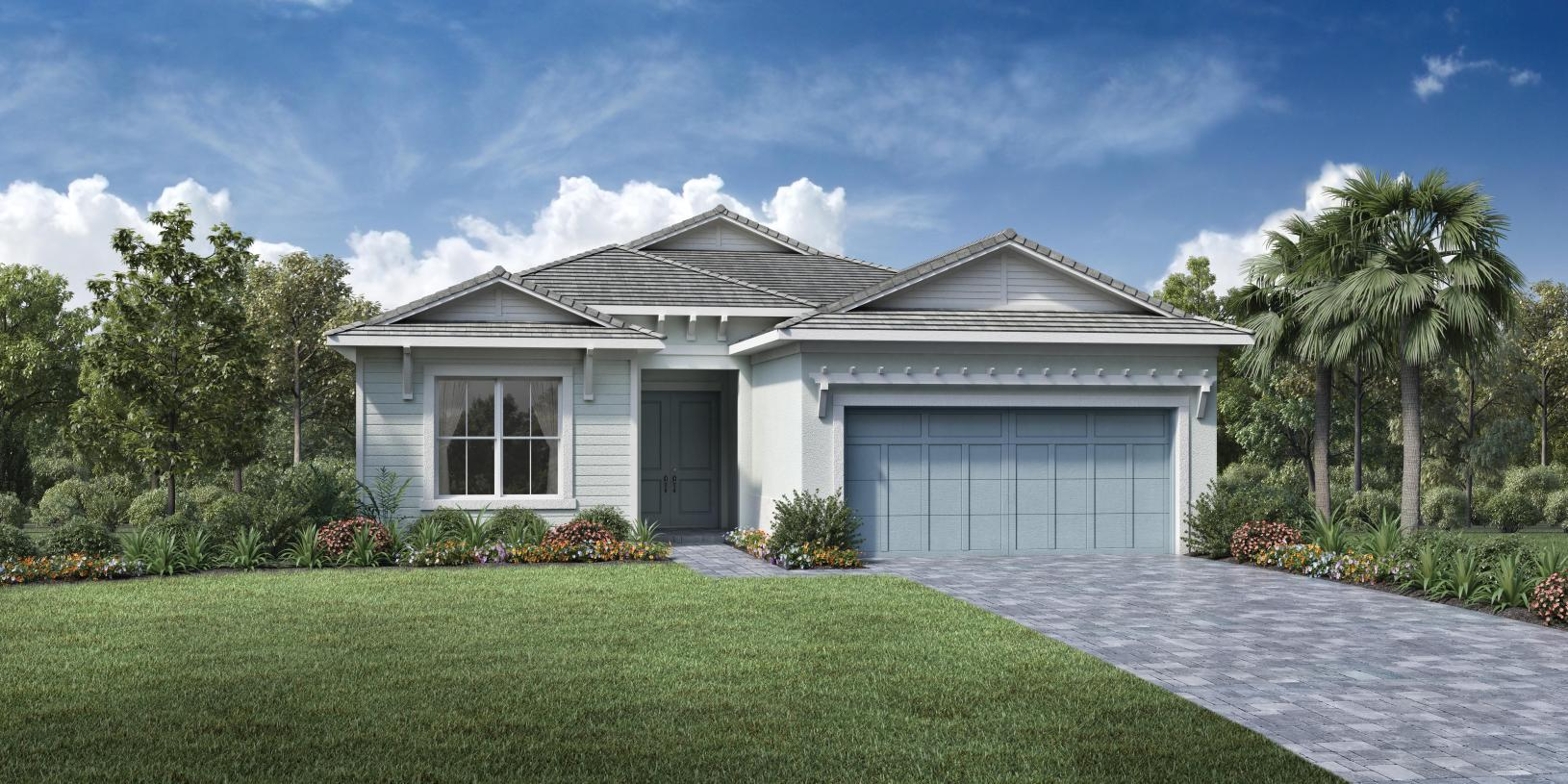 Exterior featured in the Edmonton By Toll Brothers in Palm Beach County, FL