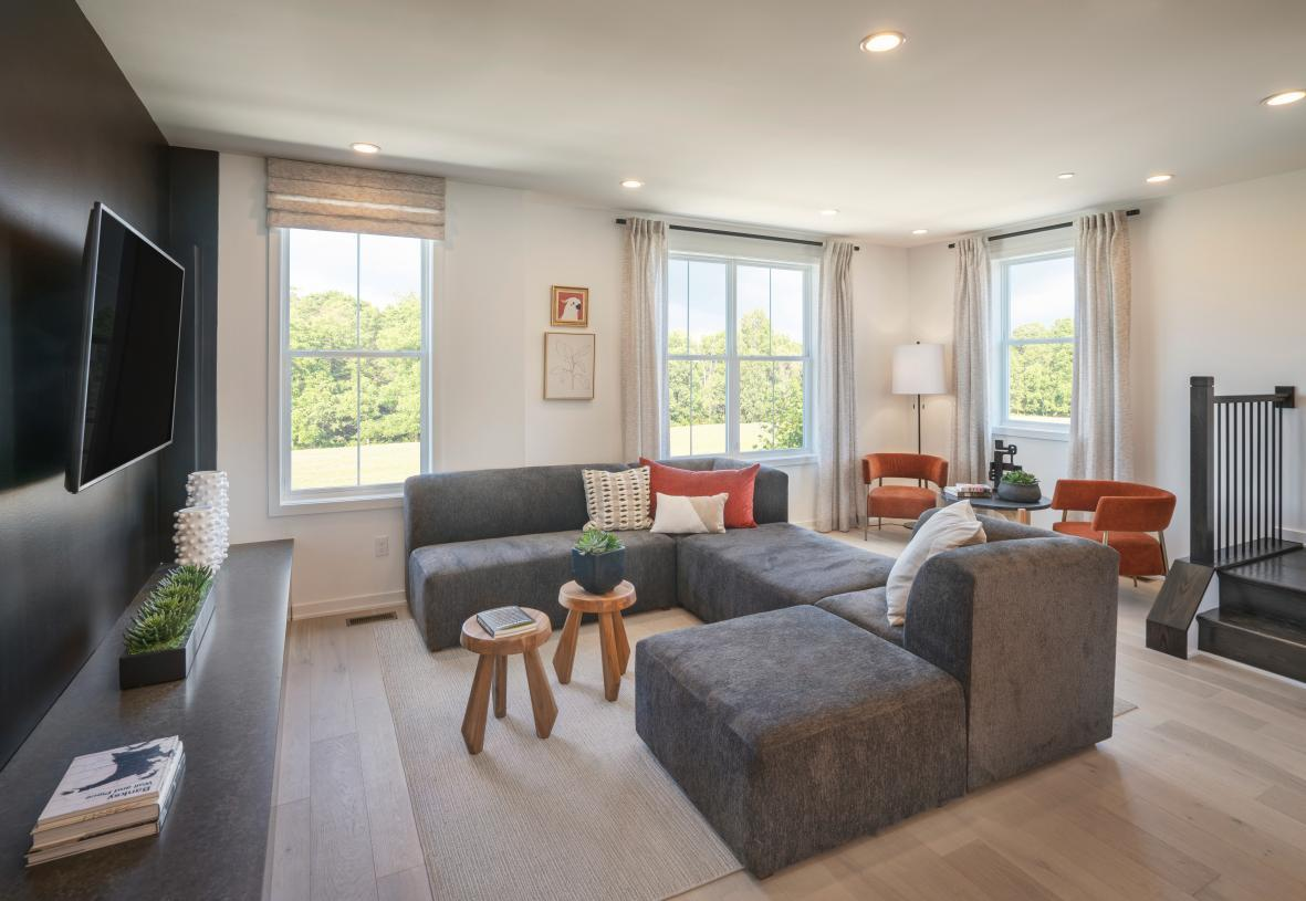Living Area featured in the Haring Elite By Toll Brothers in Philadelphia, PA