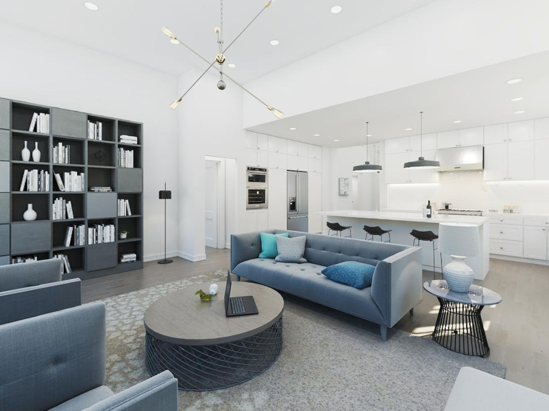 Living Area featured in the Bexley By Toll Brothers in Somerset County, NJ