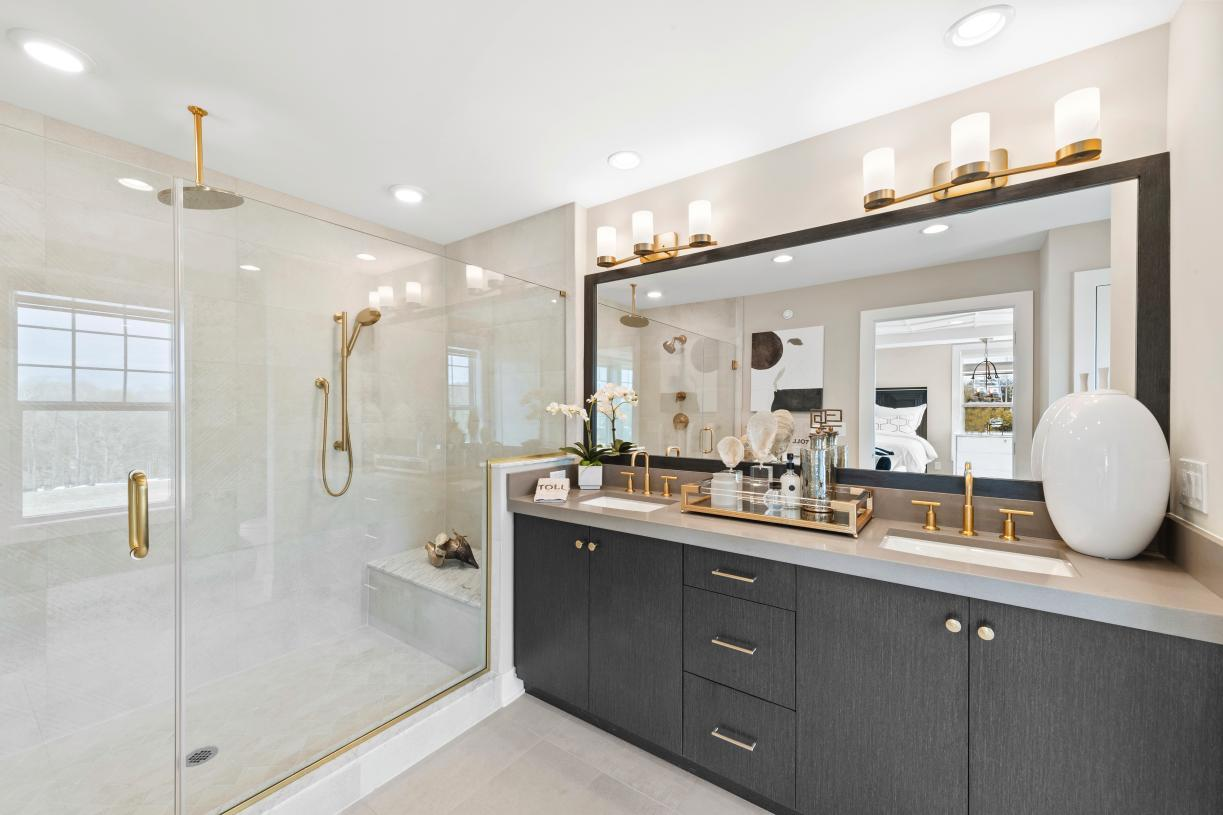 Bathroom featured in the Carlough By Toll Brothers in Bergen County, NJ