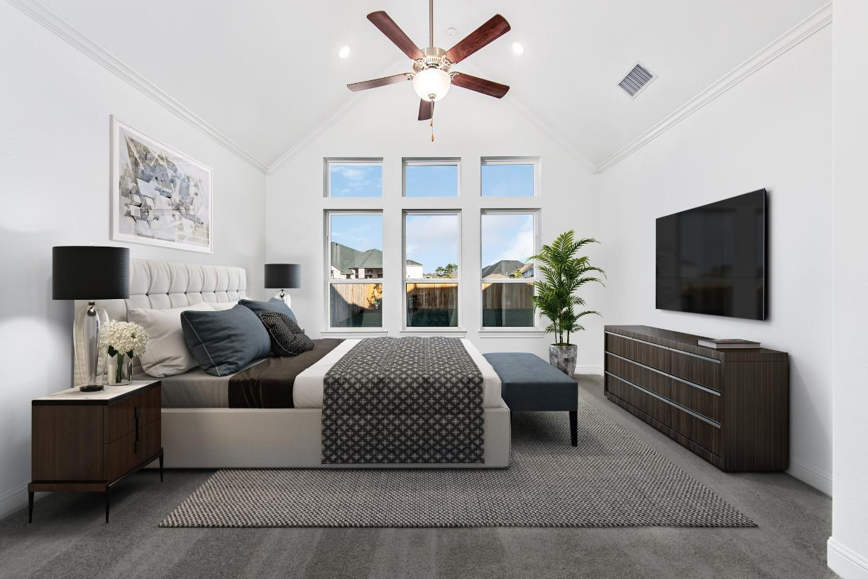 Bedroom featured in the Nicholson By Toll Brothers in Houston, TX