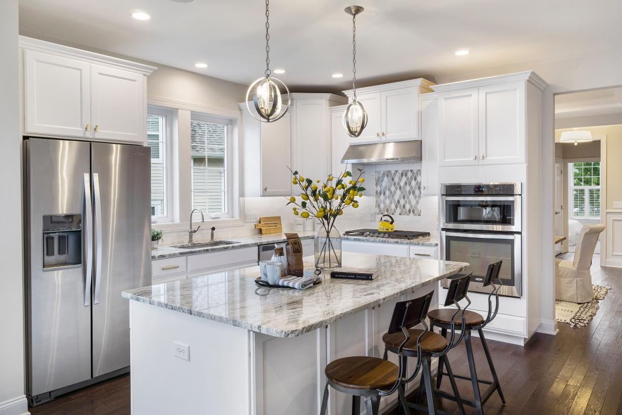 Kitchen featured in the Bransford By Toll Brothers in Danbury, CT