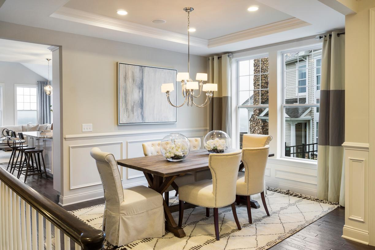 Living Area featured in the Bransford By Toll Brothers in Danbury, CT