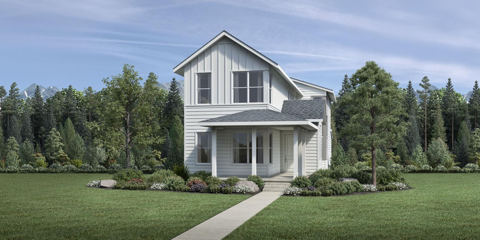 Exterior featured in the Dailey By Toll Brothers in Boulder-Longmont, CO