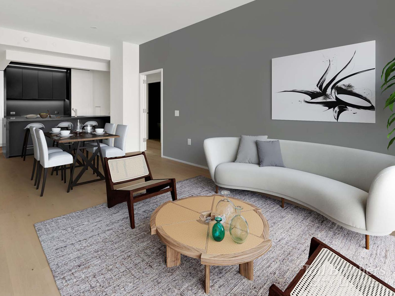Living Area featured in the N908 By Toll Brothers in New York, NY