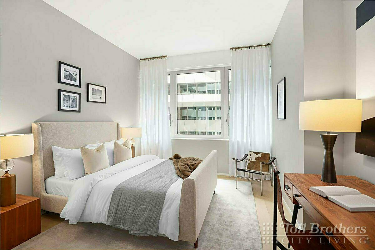 Bedroom featured in the N1101 By Toll Brothers in New York, NY