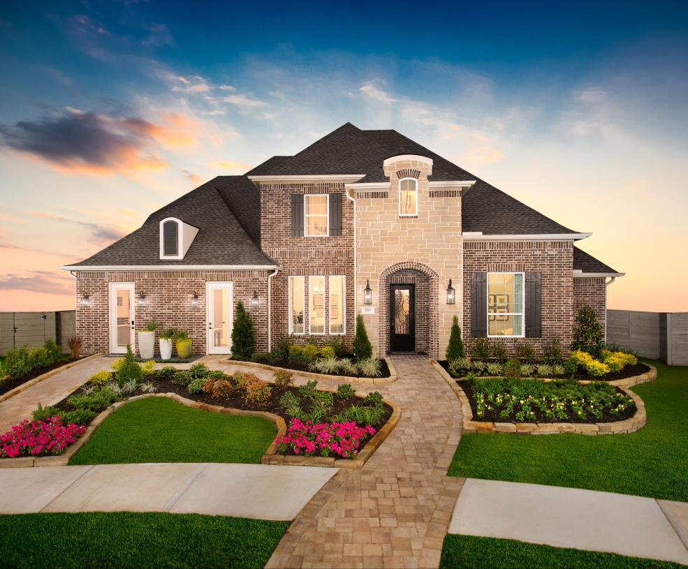Exterior featured in the Fairholm By Toll Brothers in Houston, TX