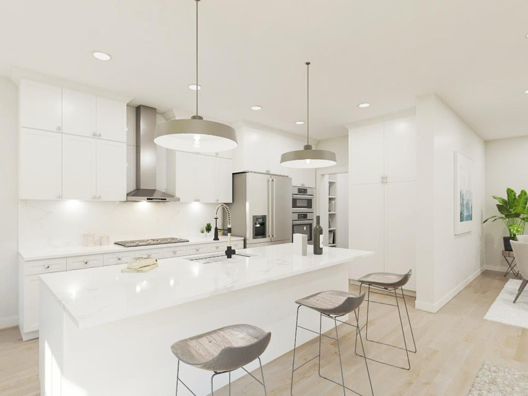 Kitchen featured in the Eldon By Toll Brothers in Somerset County, NJ