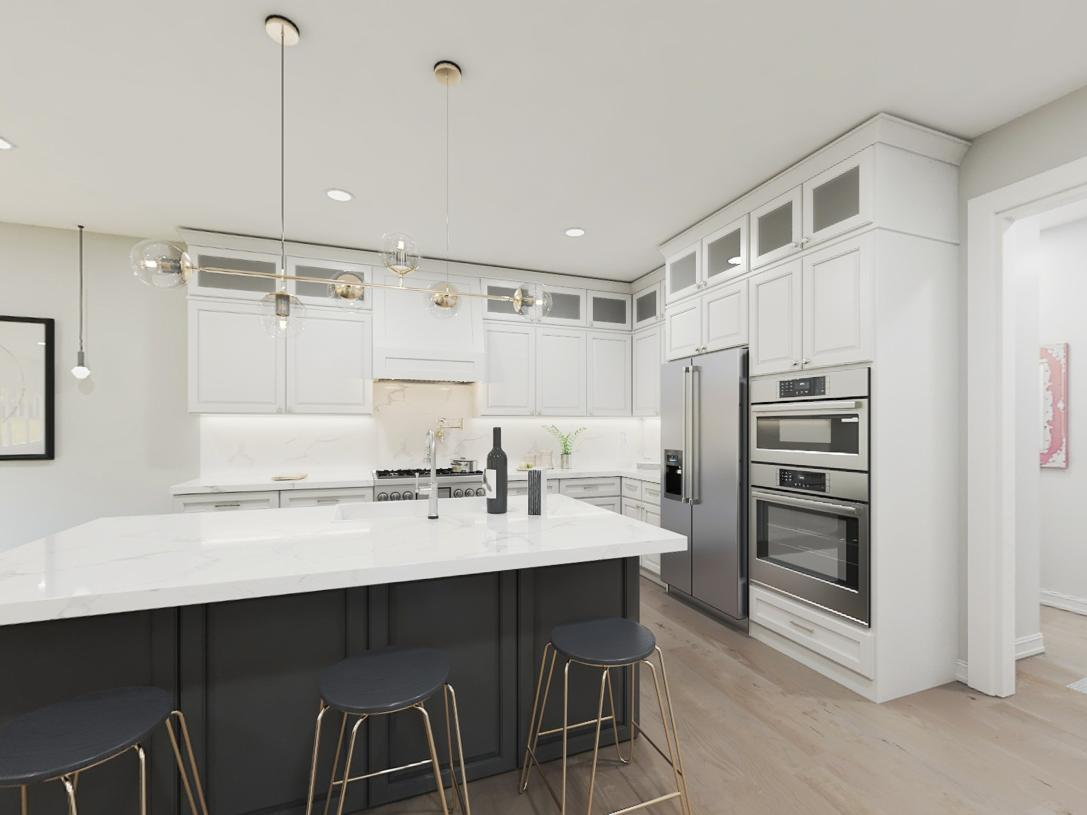 Kitchen featured in the Leyton By Toll Brothers in Somerset County, NJ