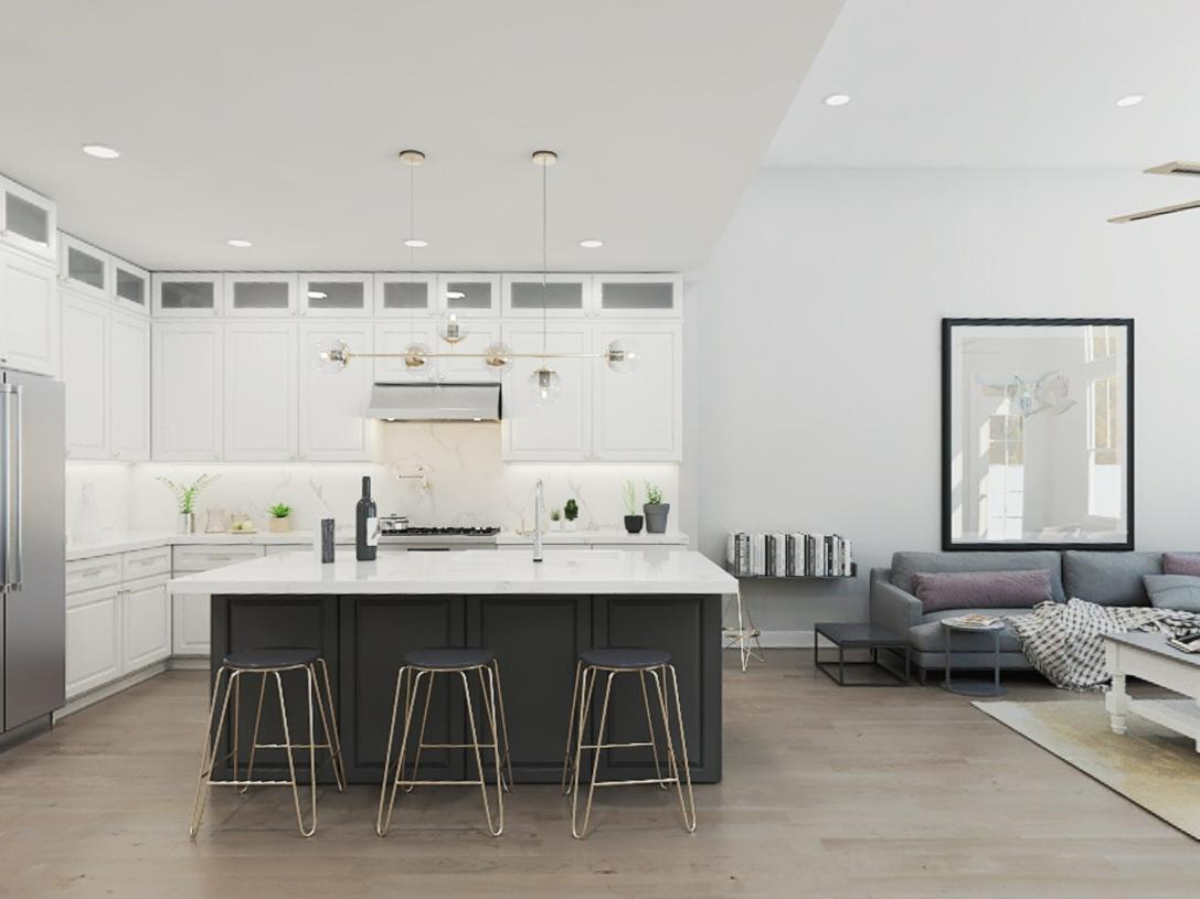 Kitchen featured in the Amberley By Toll Brothers in Somerset County, NJ