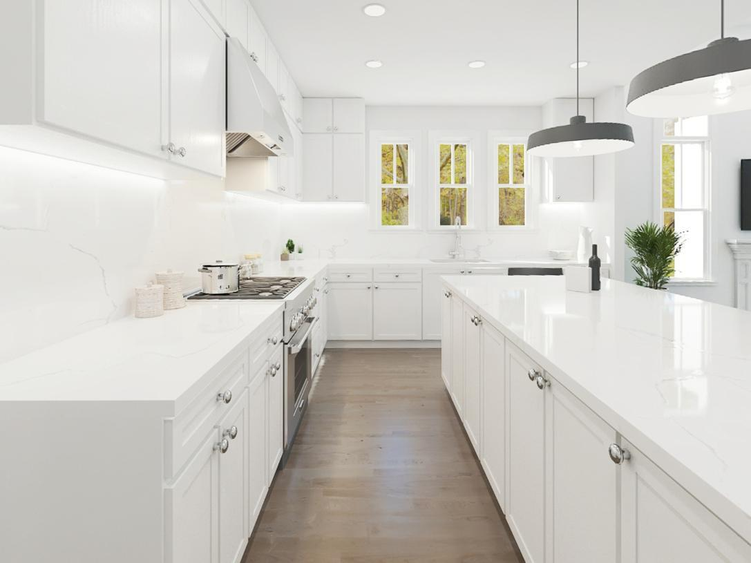 Kitchen featured in the Bexley By Toll Brothers in Somerset County, NJ