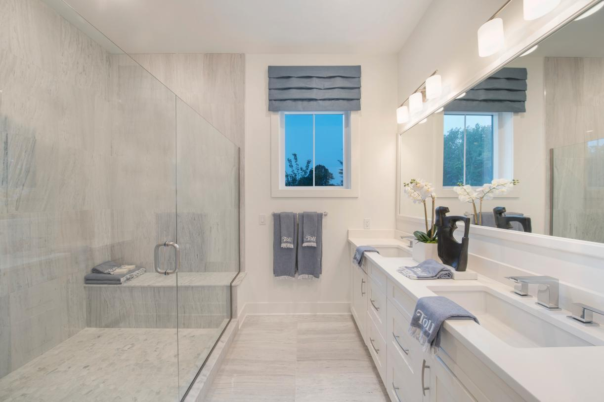 Bathroom featured in the Wetherbee By Toll Brothers in Boston, MA