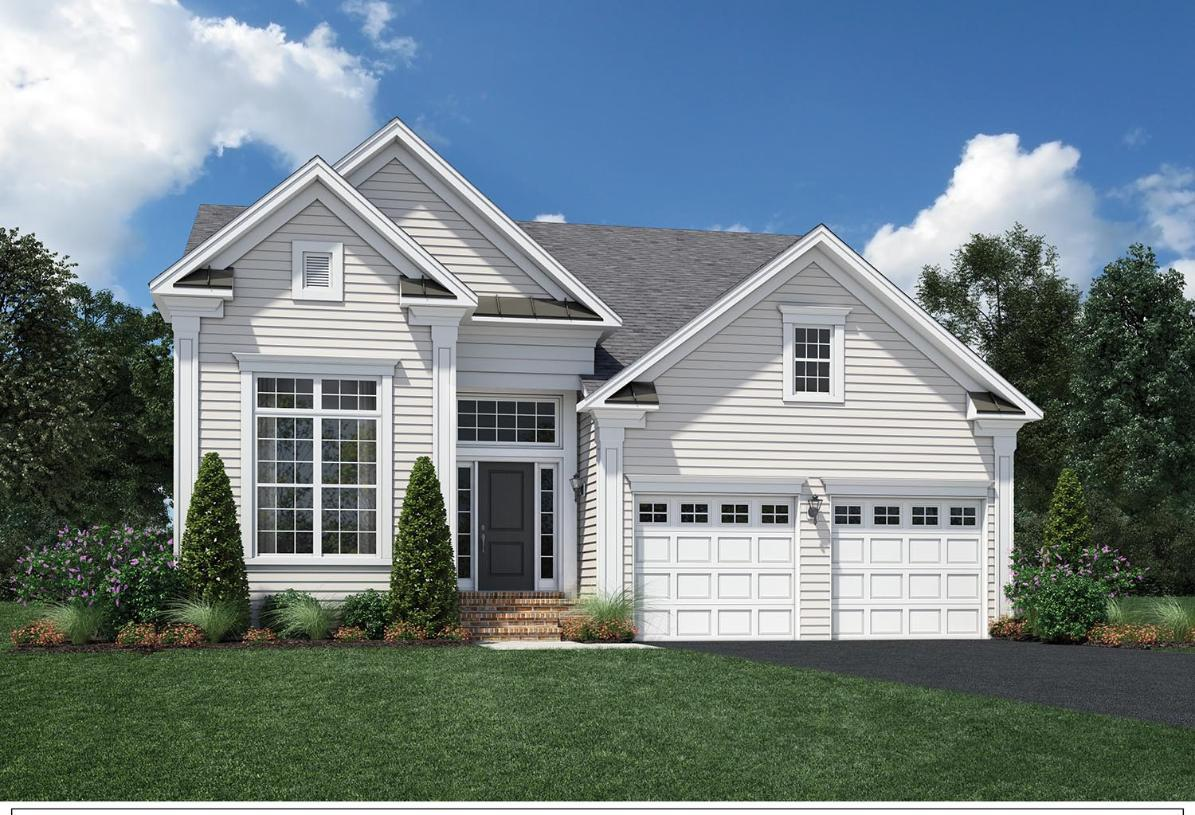 Exterior featured in the Binghamton By Toll Brothers in Bridgeport, CT