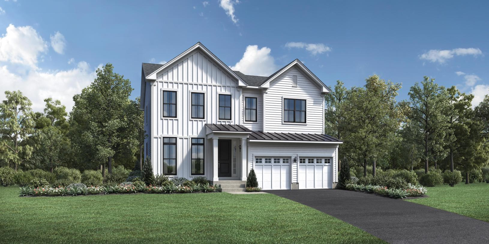 Exterior featured in the Irvine By Toll Brothers in Bridgeport, CT